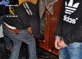 La Guardia Civil desarticula una red dedicada al tr�fico de droga que ocasion� un grave accidente de tr�fico y se dio a la fuga
