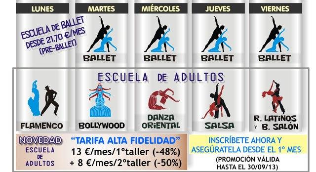 La Escuela de Danza Manoli Cánovas abre plazo de matrícula para el nuevo curso 2013-2014, Foto 3