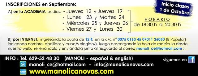 La Escuela de Danza Manoli Cánovas abre plazo de matrícula para el nuevo curso 2013-2014, Foto 4