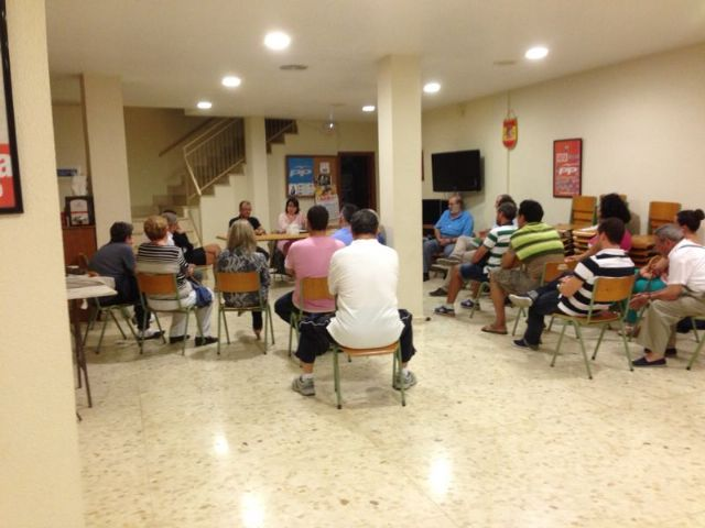 La alcaldesa presenta a la ejecutiva del PP de Totana los proyectos y objetivos para el nuevo curso político 2013/14 recién comenzado, Foto 1