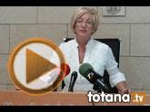 Rueda de prensa PSOE Totana sobre imputaciones