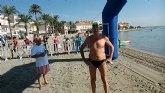 El totanero José Miguel Cano participó en la X Travesía a nado Isla Perdiguera – Los Alcázares
