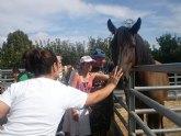 PADISITO visita un centro de terapias ecuestres en Alhama de Murcia
