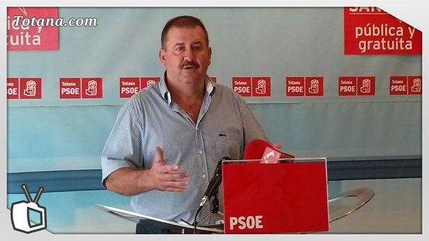 Rueda de prensa PSOE Totana. Valoración Pleno septiembre 2013, Foto 1