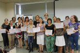 Concluye el curso de formaci�n en el cuidado de personas mayores dependientes impartido en el Vivero de Empresas
