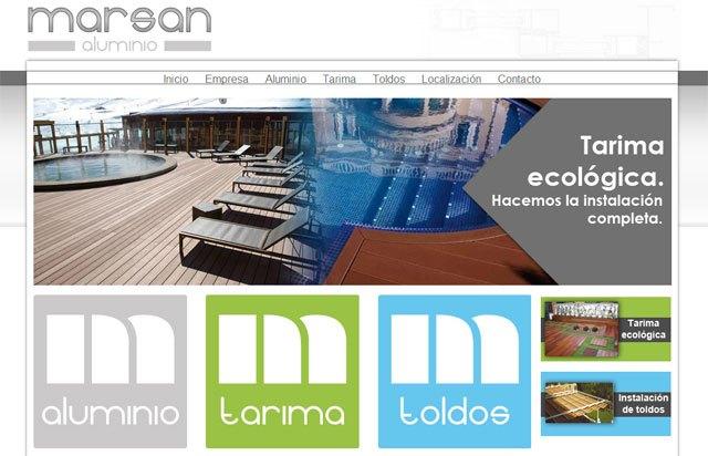 Carpintería metálica, tarimas, toldos... En la nueva página web de Marsan Aluminios encontrarás lo que necesitas, Foto 1