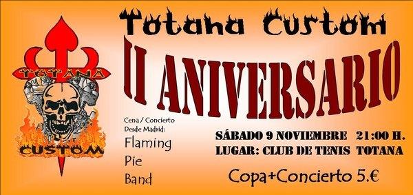 Totana Custom celebra su II aniversario con una Cena-Concierto, Foto 3