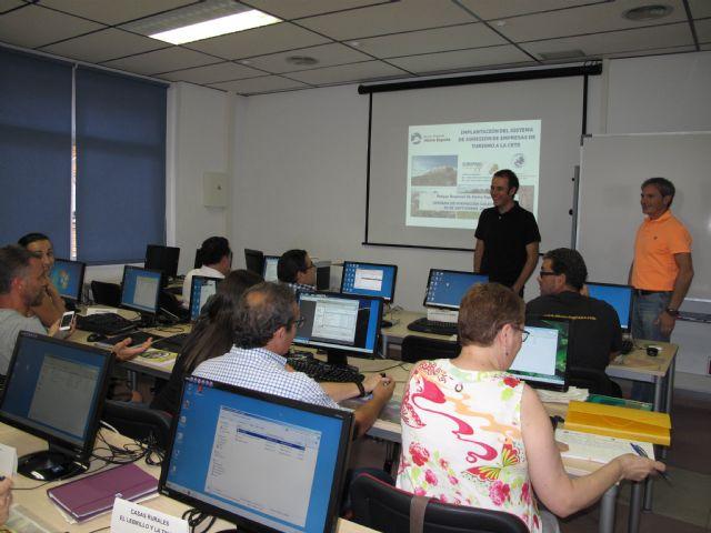 Empresarios del Parque Regional de Sierra Espuña comienzan el proceso de acreditación de la II Fase de la CETS, Foto 1