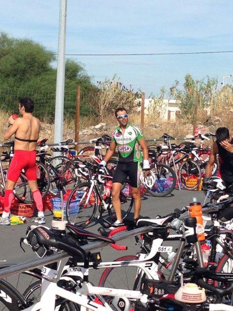 Francisco Cuesta (Kisko) finaliza el Ironman IBERMAN LA LUZ LD 2013, Foto 1
