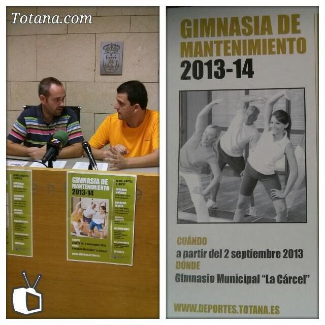 Comienza el programa de Gimnasia de mantenimiento 2013/14 en el gimnasio del Centro Sociocultural La Cárcel, Foto 1