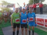 Atletas del Club Atletismo Totana participaron en la marat�n y media marat�n de montaña Almudayna - 2