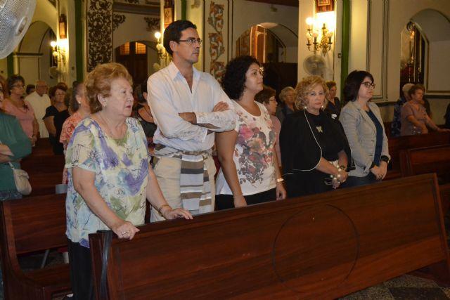 Autoridades municipales asisten a los actos de comienzo del curso 2013/14 de la Asociacion de Amas de Casa de Totana, Foto 2