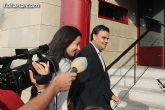 Declaraciones de Martínez Andreo a la salida del juzgado - 4