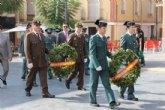 La Guardia Civil protagoniza un emotivo homenaje a la Bandera española el D�a de la Hispanidad