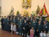 La iglesia de San José acoge un año más la misa en honor a la Virgen del Pilar