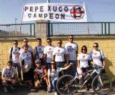 José Pérez del club ciclista 9 y ½ se alza campeón regional