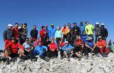 El Club Senderista de Totana realizó una ruta a La Sagra Bosque Vertical el pasado domingo