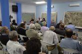 El ayuntamiento y la Comunidad de Regantes informan en una asamblea de las gestiones realizadas para solucionar los regadíos consolidados en Totana