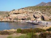 La Concejalia de Deportes organiza el domingo una ruta de senderismo por las playas vírgenes de Lorca y Mazarrón