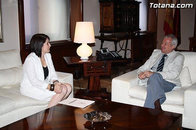 La alcaldesa se reúne mañana con el presidente de la Comunidad Autónoma para tratar algunos asuntos de interés general que afectan a Totana, Foto 1