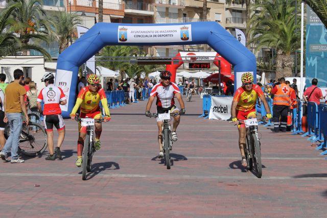 Mazarrón vive una gran fiesta ciclista con la XVIII Marcha MTB Bahía de Mazarrón, Foto 2