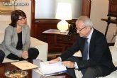 La alcaldesa pide a Valcárcel que medie con el Ministerio de Agricultura para regularizar los terrenos de secano - 8