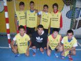 La concejalía Deportes organiza la primera jornada de la fase local de futbol sala cadete, correspondiente al programa de Deporte Escolar - 2