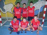 La concejalía Deportes organiza la primera jornada de la fase local de futbol sala cadete, correspondiente al programa de Deporte Escolar - 7