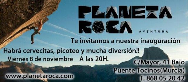 Mañana viernes se inaugura Planeta Roca en Puente Tocinos (Murcia), Foto 1