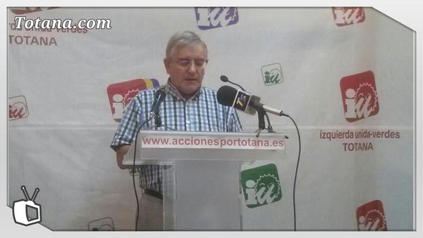 Rueda de prensa IU-verdes sobre la reforma de la Administración Local, Foto 1