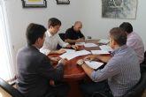 El Ayuntamiento de Alhama de Murcia firma el convenio que pretende mantener el nivel de servicios, calidad e imagen del Parque Industrial de Alhama