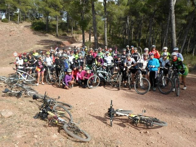 2º encuentro femenino de ciclistas, Foto 1