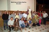 Se presenta la imagen de la Virgen del Calvario a la Hermandad al término de su asamblea extraordinaria