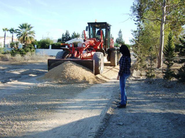 El ayuntamiento mejora los caminos rurales del 'Barranco de Secas' en Pastrana y 'Rusticana' en Garrobo, Foto 2