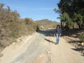 El ayuntamiento mejora los caminos rurales del 'Barranco de Secas' en Pastrana y 'Rusticana' en Garrobo