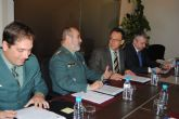 El delegado del Gobierno destaca el descenso en un 16% en el número de delitos y el aumento del 12% de detenciones en Mazarrón