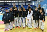 4 medallas en tae kwondo en los campeonatos regionales cadete, junior y sénior