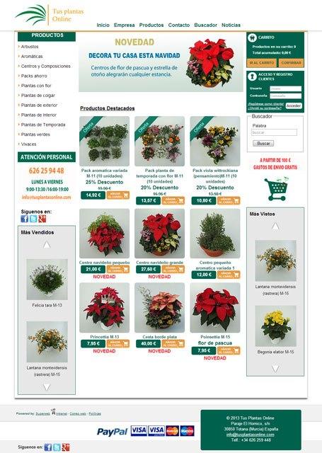 Compra tus Flores de Pascua en tusplantasonline.com, Foto 1