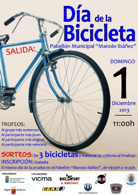 El Dia de la bici se aplaza al dia 22 de diciembre, Foto 1
