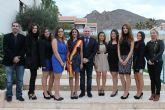 7 bellas jóvenes optan a coronarse reina de las fiestas patronales 2013