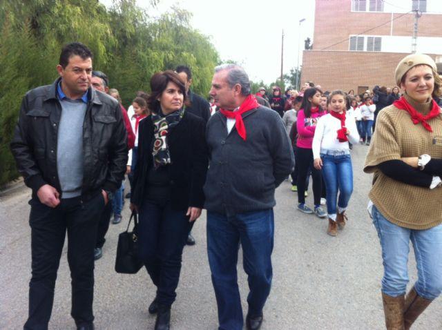 La comunidad educativa del CEIP San José organiza su primera romería de Santa Eulalia por las calles del barrio, Foto 5