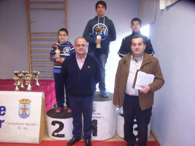 Medio centenar de escolares de los diferentes centros de enseñanza de la localidad protagonizaron la fase local de ajedrez de Deporte Escolar, Foto 4