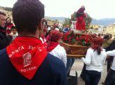 La comunidad educativa del CEIP San José organiza su primera romería de Santa Eulalia por las calles del barrio