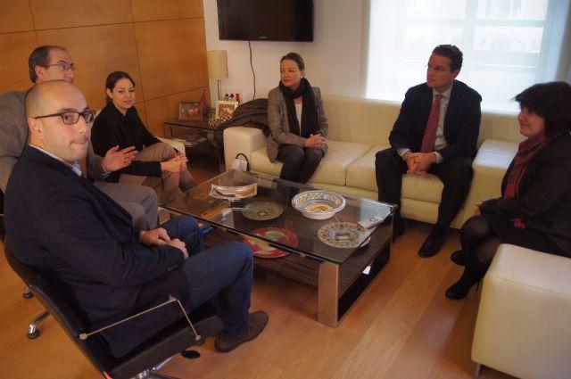 El presidente de CECLOR se reúne con el gobierno municipal y representantes de sectores productivos, Foto 1