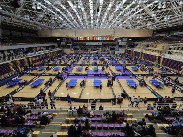 Tenis de mesa. Torneo nacional clasificatorio. Alcobendas, Foto 1