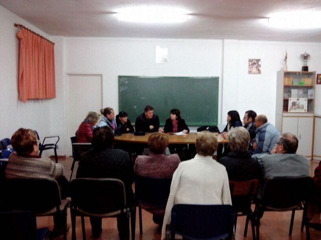 Responsables municipales se reúnen con la nueva junta directiva de la Asociación de Vecinos del barrio San Francisco, Foto 1