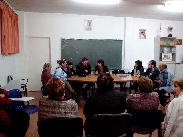 Responsables municipales se reúnen con la nueva junta directiva de la Asociación de Vecinos del barrio San Francisco, Foto 2