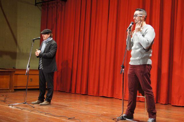 El monólogo Dos murcianos y un vespino aporta el toque de humor al programa de fiestas patronales, Foto 2