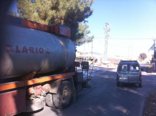 Comienzan las obras de arreglo del camino de Los Yesares que está acondicionando la Comunidad Autónoma, Foto 1