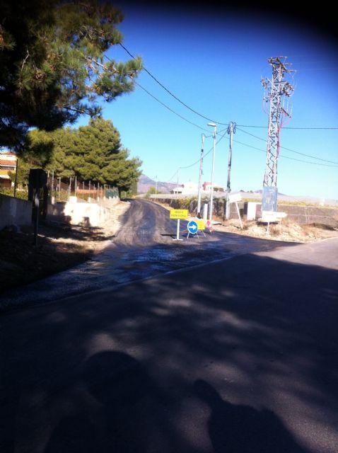 Comienzan las obras de arreglo del camino de Los Yesares que está acondicionando la Comunidad Autónoma, Foto 2